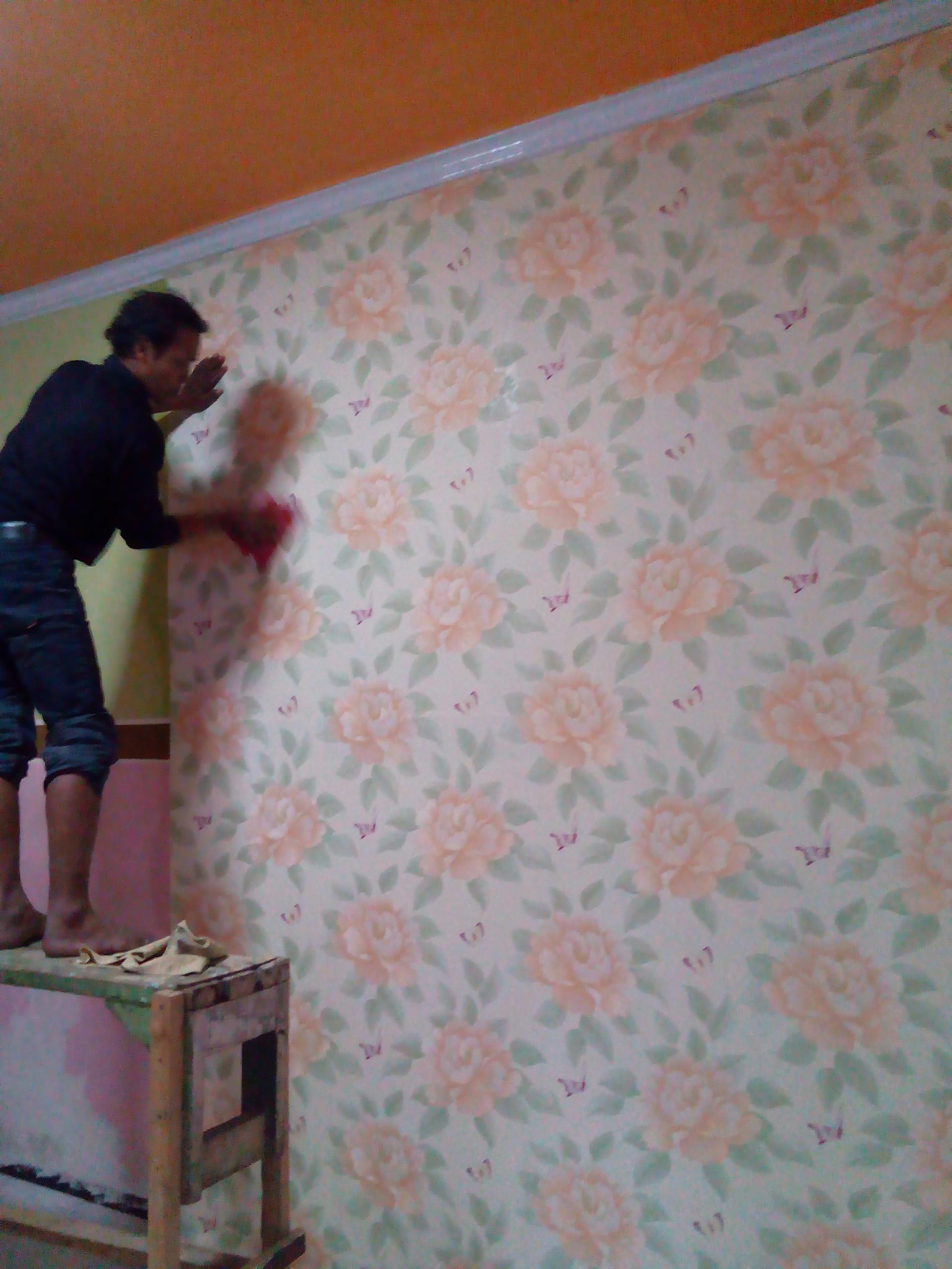 107 Cara Pemasangan Wallpaper Dinding Rumah Wallpaper Dinding